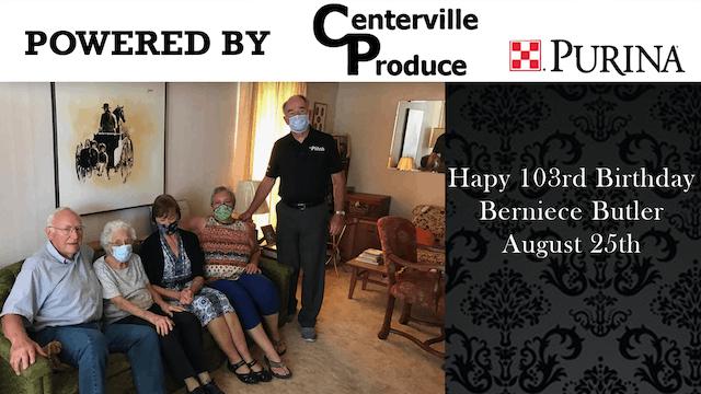 Butler 103rd Birthday