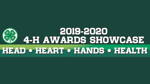 2021 4-H Virtual Showcase Corrected