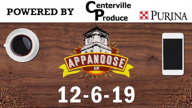 Appanoose AM 12-6-19