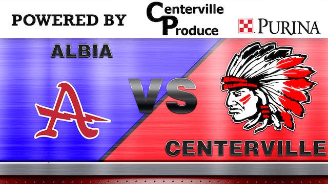 Centerville vs. Albia Boys Varsity Ba...