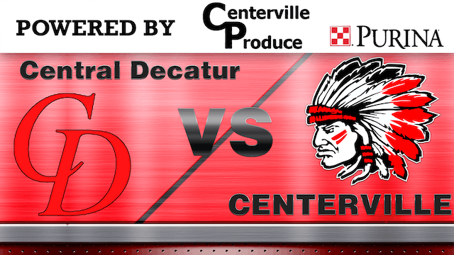 Centerville Boys Basketball vs Central Decatur 2-6-20
