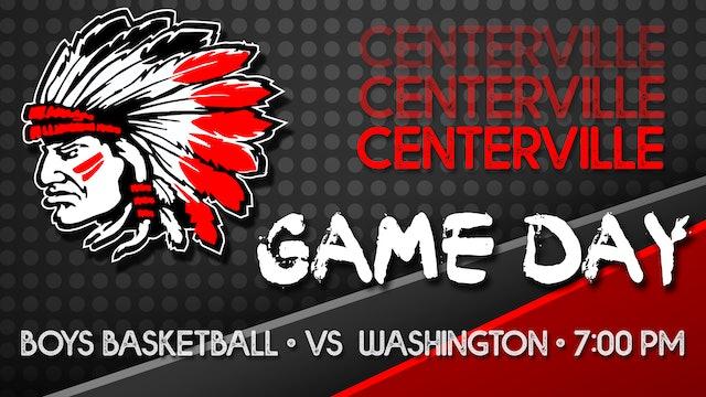Centerville Boys Varsity Basketball vs Washington 11-30-20