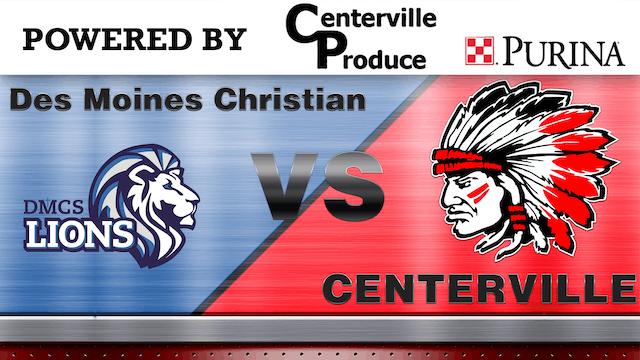 Centerville Girls Basketball vs Des Moines Christian 2-19-20 Post Season