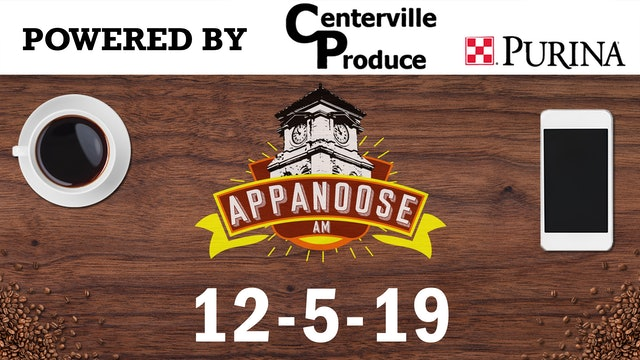 Appanoose AM 12-5-19