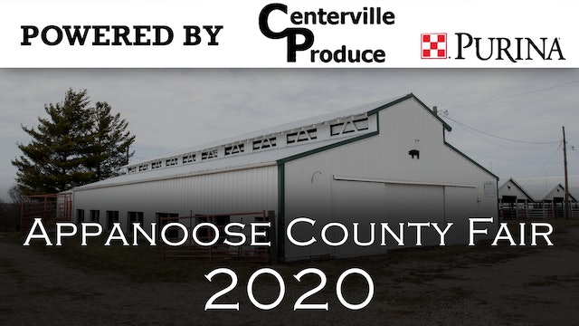 Dairy (Cow and Goat) - 2020 Appanoose County 4-H Livestock Show