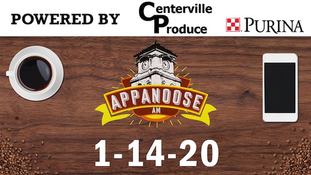 Appanoose AM 1-14-20