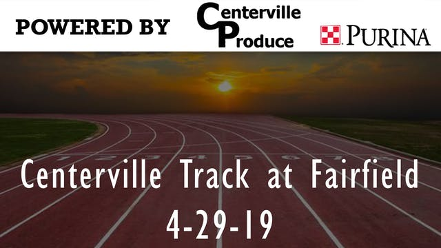 Centerville Track at Fairfield Part 1...