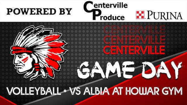 Varsity Volleyball vs Albia 9-1-20