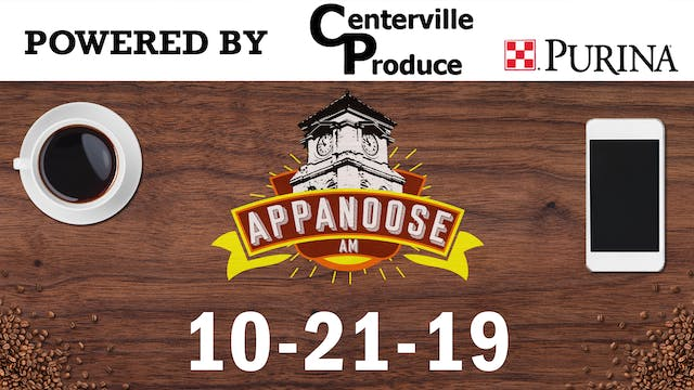Appanoose AM 10-21-19