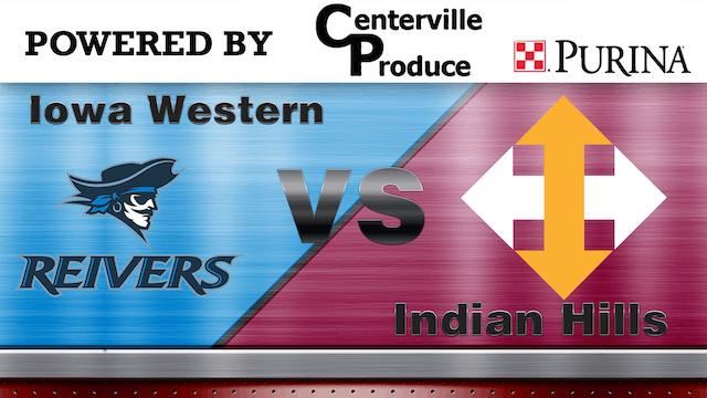 Indian Hills vs Iowa Western - ICCAC Region XI Game 4   5-11-19