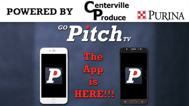 GoPitchTV APP Now Available