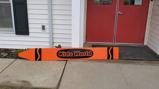 Kids World Celebrates 30 Years - And Restores Original Sign
