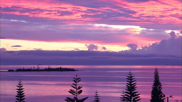 New Caledonia - The Red and the Blue