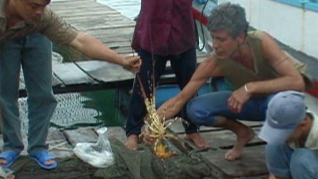 Eating on the Mekong