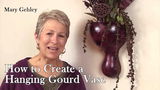 Hanging Gourd Vase