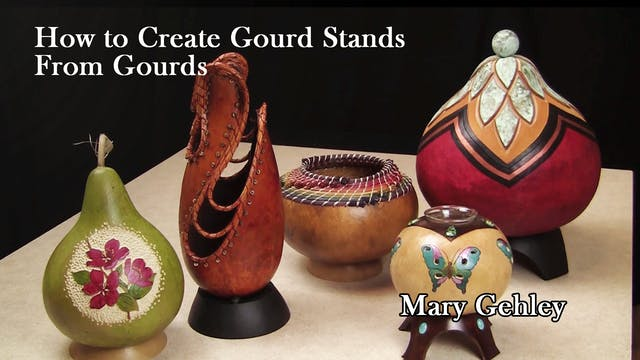 How to Create Gourd Stands from Gourds