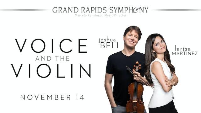 NOV 14 | Voice and the Violin