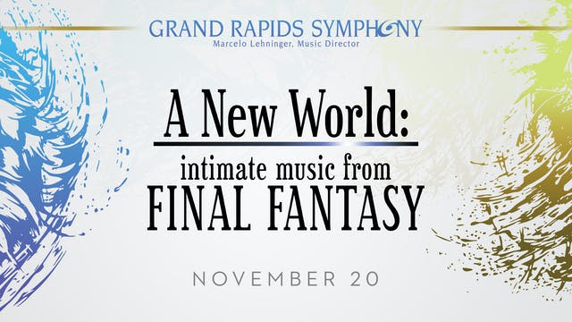 NOV 20 | intimate music from FINAL FANTASY