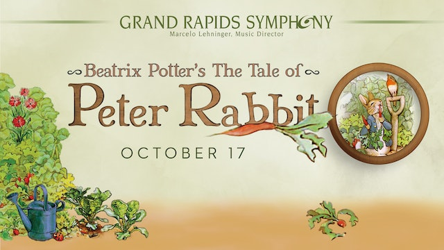 OCT 17 | Family Concert: The Tale of Peter Rabbit