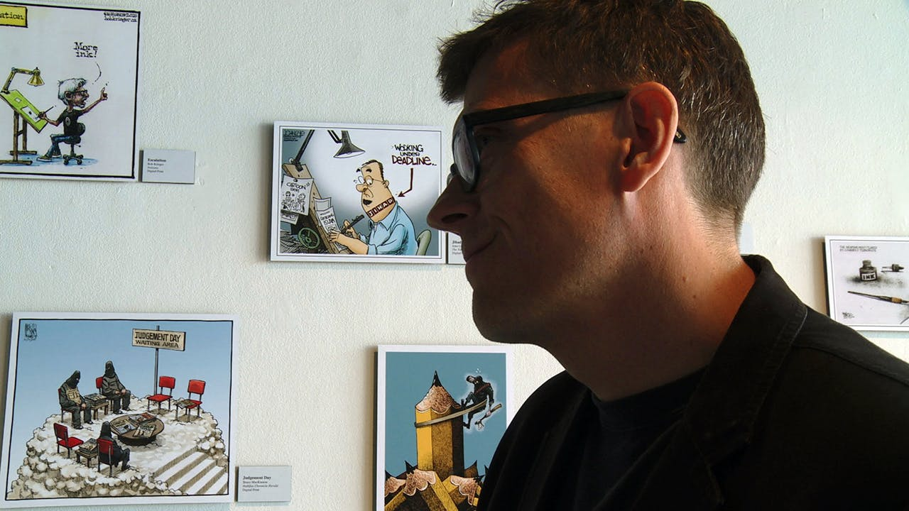 Mr. Fish: Cartooning from the Deep