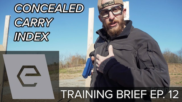 TB Ep 12 - Thumb Pectoral Index CONCEALED