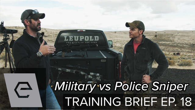 Training Brief - Military vs Police S...