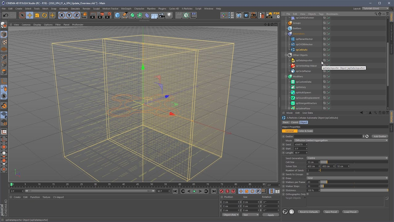 401a XP4 Brief Overview - Gorilla Guide to X-Particles