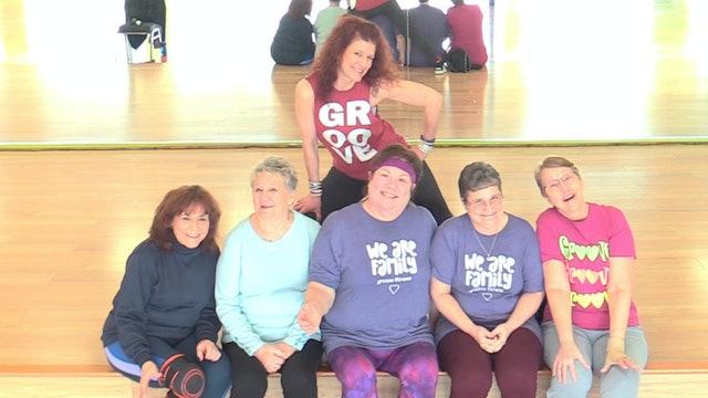 Active Older Adult Dance Fitness - Michael Jackson 3/14/2021