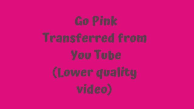 Pop Dance Cardio - Go Pink (YouTube transfer)