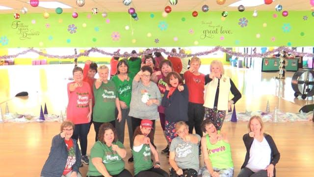 Active Older Adult Dance Fitness- Hey Santa