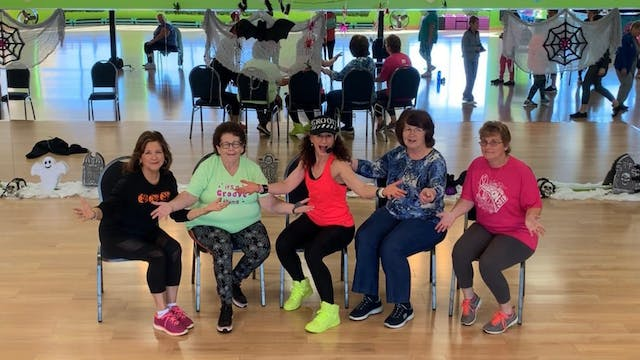 Chair Dance Fitness - Don't Stop the Party