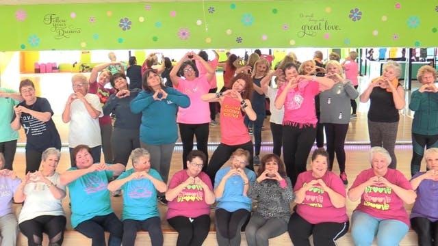 Active Older Adult Dance Fitness - Sandys birthday! 1/23/21