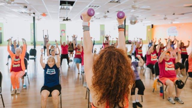 Chair Dance Fitness - Fresh