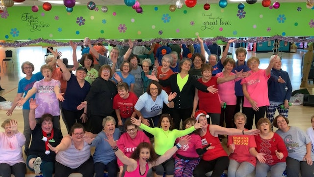 Active Older Adult Dance Fitness - Fight Song