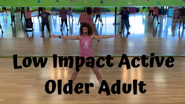 Active Older Adult Dance Fitness - Hold My Hand