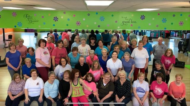 Active Older Adult Dance Fitness - Stars on 45