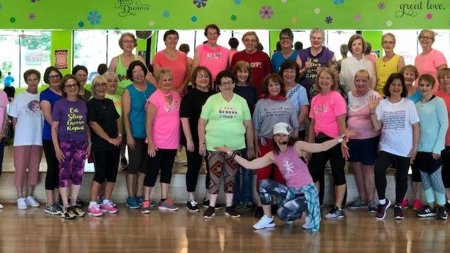 Active Older Adult Dance Fitness - Happy
