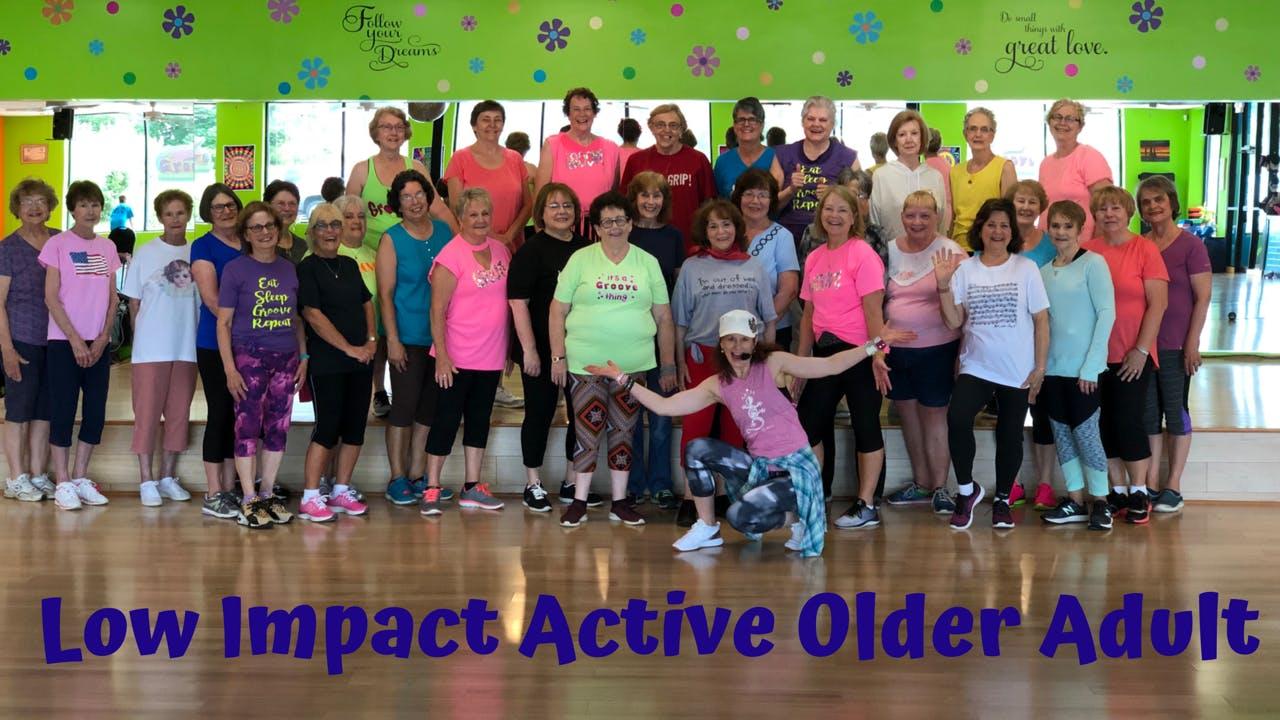 Low Impact Active Older Adult/ Happy