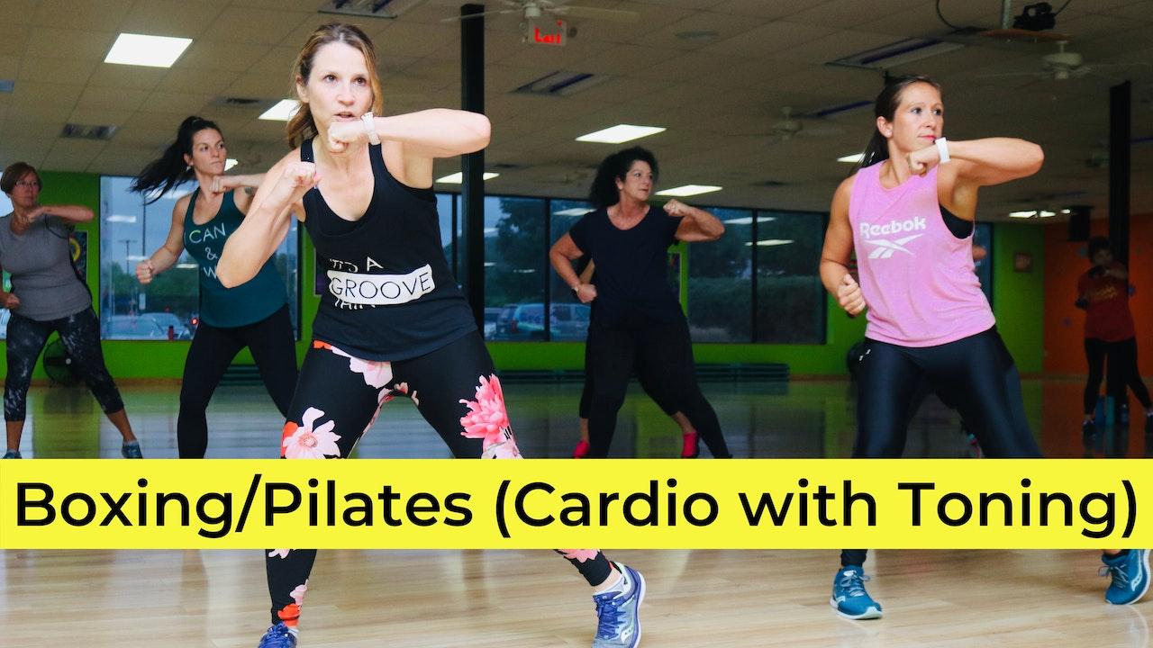 Boxing/Pilates (Cardio with Toning)