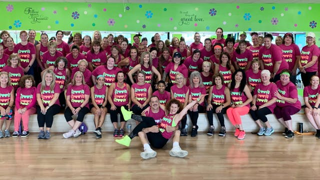 Latin Dance Cardio - 90 minute - Jen's 52nd Birthday Class