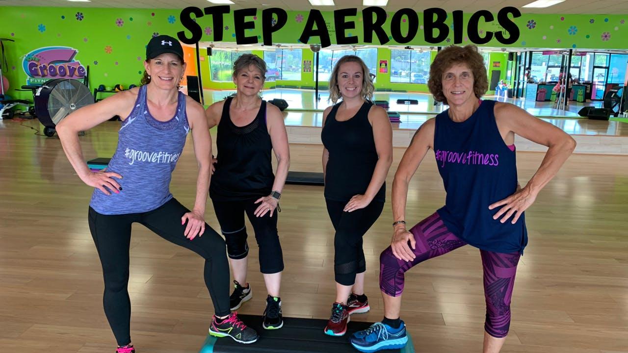 45 Minute Step Aerobics