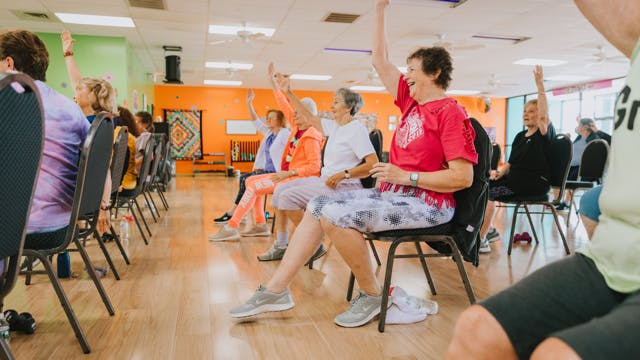 Chair Dance Fitness - New Light