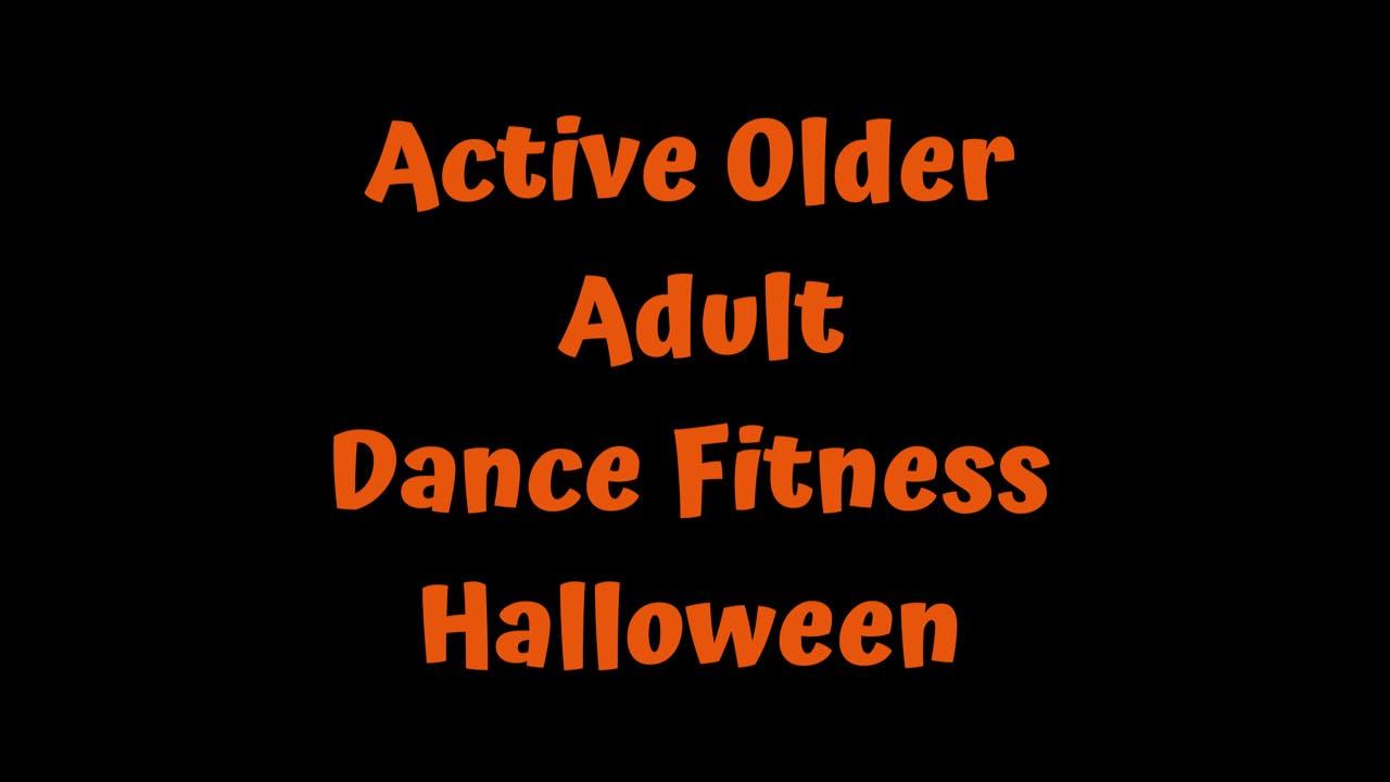 Active Older Adult Dance Fitness - Halloween