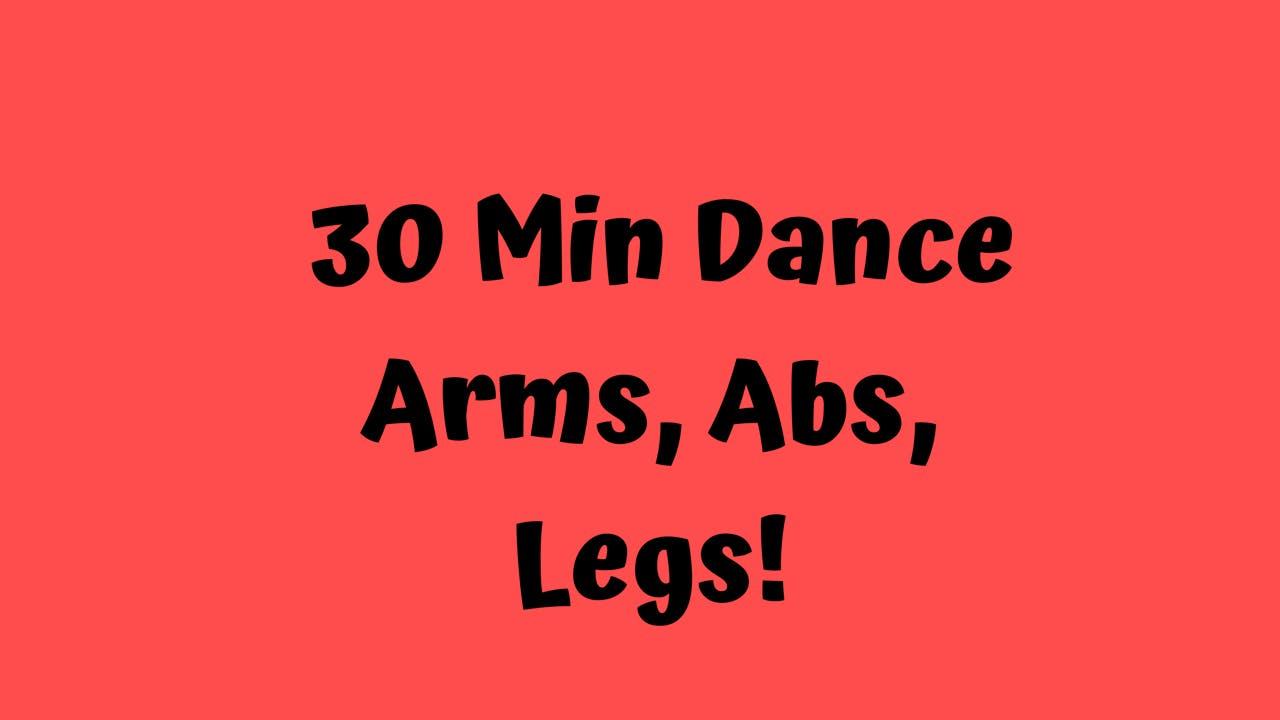 30 Min Dance Cardio/ Toning Edition