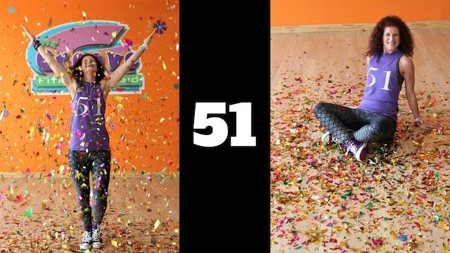 Latin Dance Cardio - 90 minutes - Jen's 51st Birthday Class!