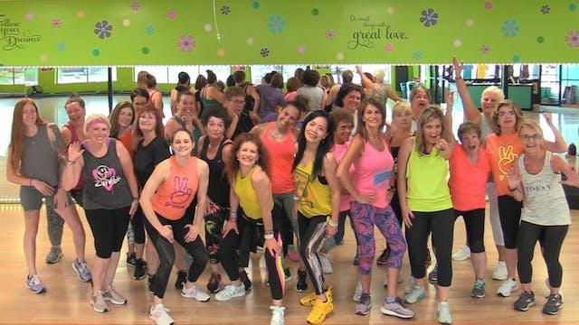 Latin Dance Cardio - 90 Minute Shuffl...
