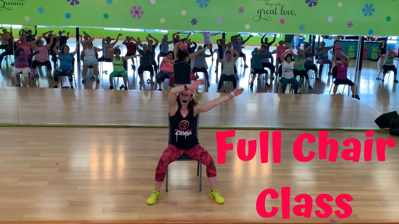 45 min Chair Class/ Rock This Party