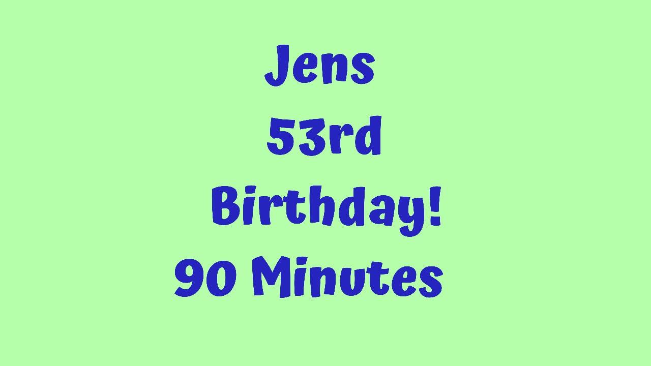 Latin Dance Cardio - Jens 53rd Birthday-90 Minutes