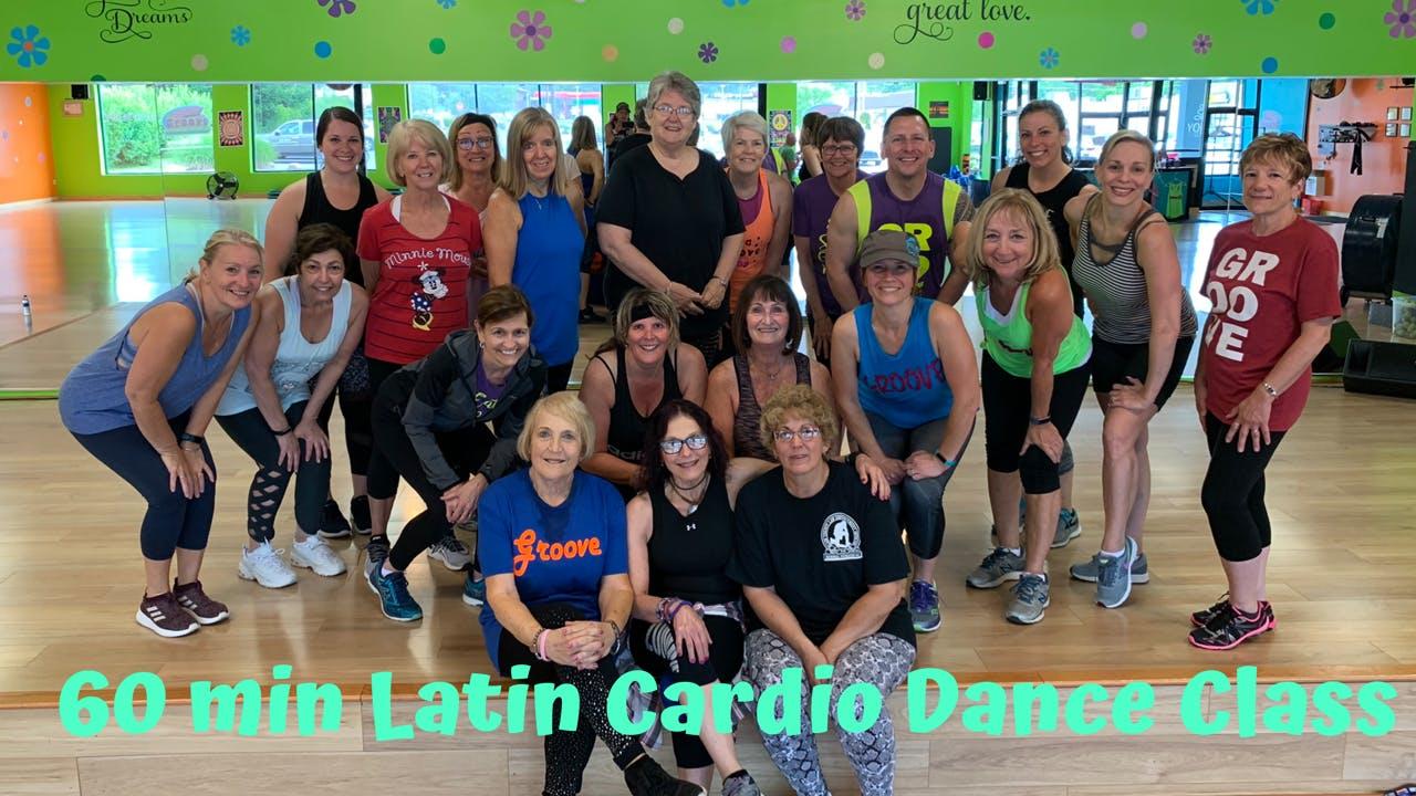 60 Min Latin Dance Cardio/Under Pressure