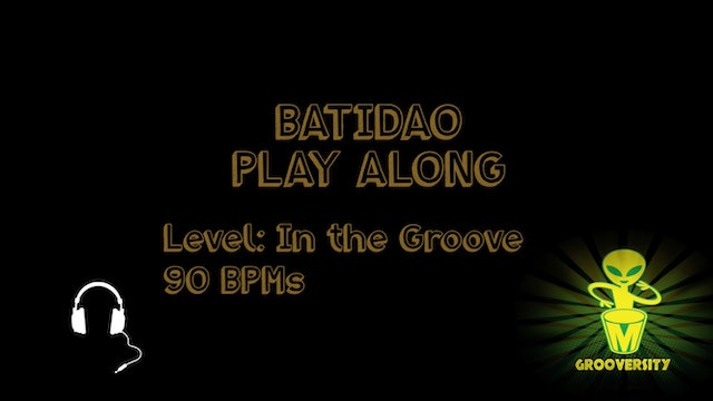 Batidao Playalong In the Groove 90bpms